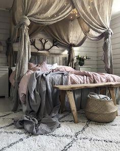 Luxury Bed Room on Behance Home Decor Bedroom, Diy Room Decor, Romantic Home Decor, Rustic Romantic Bedroom, Bedroom Blinds, Cozy Room, New Room, Interior Design, Furniture