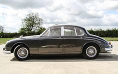 A stunning example of the most desirable litre variant of the much admired Jaguar Mk. Classic Sports Cars, Classic Cars, Driver Of The Day, Dog Leg, Cars Uk, Best Oils, Automotive Industry, Sport Cars, Colorful Interiors