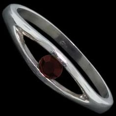 Silver ring, CZ, oval Silver ring, Ag 925/1000 - sterling silver. With stones (CZ - cubic zirconia). A fine ring set with a round zircon.