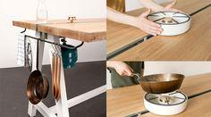 Cooking Table, do designer alemão Moritz Putzier