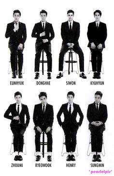 SUPER JUNIOR M SWING (These can are over the age of 25! Looking pretty damn good, fellas!!)