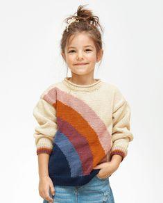 Toddler Knitting Patterns Free, Knitting For Kids, Knit Patterns, Baby Knitting, Kids Girls, Baby Kids, Knit Baby Sweaters, Knit Crochet, Free Pattern