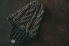 brown shetland wool, homespun & darkgreen merino