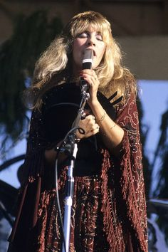 "prominentmen: "" Stevie Nicks in Santa Barbara, California, in 1977. © Larry Hulst/Michael Ochs Archives/Getty Images. """