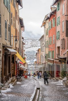 The old Briançon | Hautes-Alps, France | #stockphotos #gettyimages #print #travel |