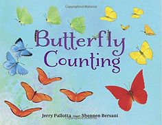 For butterfly enthusiasts of all ages! This counting book introduces 24 species of butterflies while children learn to count zero to twenty-five and learn facts. Karma, Butterfly Facts, Counting Books, Learn To Count, Fiction And Nonfiction, Children's Picture Books, Teaching Kindergarten, Teaching Ideas, Early Literacy