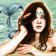 Selina Fenech Art   Borboleta Azul: Sereias