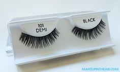 Pestañas postizas paso a paso: Ardell 101 Demi Black www.makeupintheair.com/tutorial-pestanas-postizas