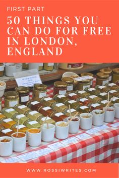 50 Things You Can Do For Free in London, England. How to save money while you're visiting London.