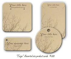 Image result for cards to display jewellery