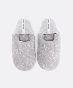 Soft backless slippers - OYSHO