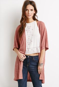 Open-Front Dolman Cardigan   Forever 21 Canada