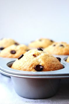 Bakery Style Chocolate Chips Muffins