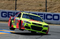 Dale Earnhardt Jr. Photos Photos - Dale Earnhardt Jr., driver of the #88 Axalta Chevrolet, drives during qualifying for the Monster Energy NASCAR Cup Series Toyota/Save Mart 350 at Sonoma Raceway on June 24, 2017 in Sonoma, California. - Sonoma Raceway - Day 2