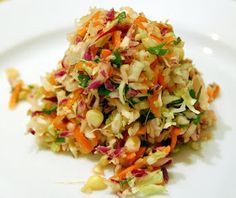 Cabbage Salad: Tex-Mex Slaw -- this sounds awesome and so different from any slaw i've ever made -- def gonna make this one!