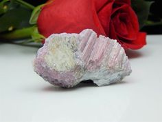 Rubellite Crystals on Smoky Quartz w/ Spodumene & Lepidolite, Maine Mineral SALE  | eBay