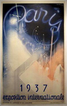 1937 Paris Exposition Poster