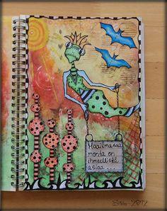 "Art Journal by *Silkku* ""Lot of amazing things in the world"" silkkus.blogspot.fi"