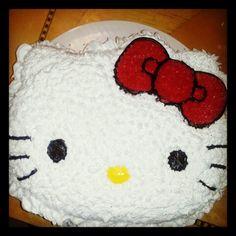 Hellokitty bday cake