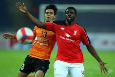 Kolo TOURE of LFC in action during a friendly match against Felda United at the Bukit Jalil stadium on July 23, 2015 in Kuala Lumpur, Malaysia. (Photo by How Foo Yeen/LFC/Liverpool FC via Getty Images)