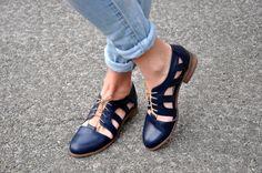 Nassau mujer corte Oxford Oxford sandalias por JuliaBoShoes