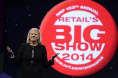 """Data will be source of your competitive advantage"" - IBM Chairman and CEO Ginni Rometty at #NRF14 #BigData"