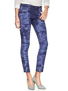 1969 tie-dye always skinny skimmer jeans | Gap
