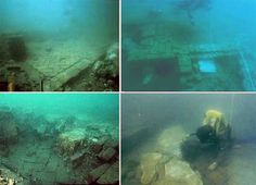 Mysterious underwater discoveries tell of unknown pasts