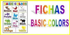 Colors: Colores en inglés Repaso a los colores en Inglés. Fichas para repasar los colores básicos en lengua inglesa. ¡ Colors ! Colors / Colores