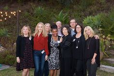 Sarah Thyre, Wendi McLendon-Covey, Patricia Resnick, Yvette Nicole Brown, Lily Tomplin, Matt Walsh, Mo Gaffney, Morgan Walsh Photo from FMF 9 to 5 20160929FMF collection by Maya Myers Photography