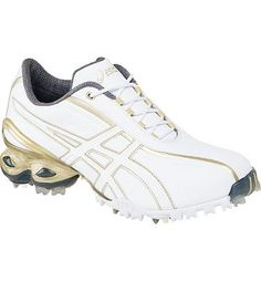 online store 9ac78 16f6d Asics Lady GEL-Ace Golf Shoes (WhiteChampagne Gold) Golf Attire,