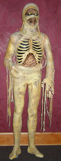 EGYPTIAN KING MUMMY LIFE SIZE Halloween Prop