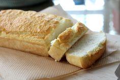 1½ cup white rice flour ½ + 4 tbsp water ¼ tsp. sea salt 1 egg, 2 egg whites whisked well 1 tbsp baking powder