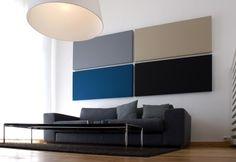diy acoustic panels living room | Acousticpearls : Decorative Acoustic Panels from Mono | ALL DIY INFO ...