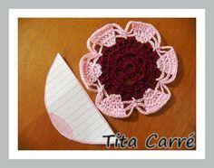 'Tita Carre' Tita Carré - Agulha e Tricot : Flor Sorriso em crochet e a vida pode ser Maravilhosa