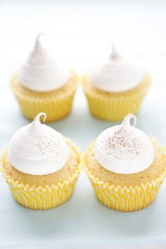 // Arroz Con Leche Cupcakes.