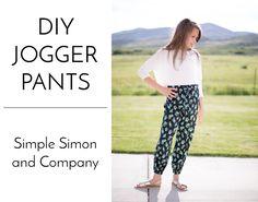 DIY Jogger Pants - Simple Simon and Company