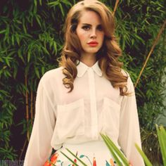 lana del rey hair... Obsessed with her