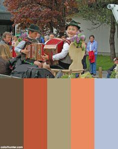 Inzell 2013 (pfingstroas) Color Scheme