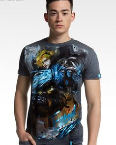 XXXL mens hero Ezreal t shirt League of Legends-