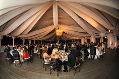 Calamigos Ranch, Malibu CA   Joy Marie Photography #wedding #uplights #amber #outdoorwedding #pavillion #reception #stringlighting #chandelier #lighting