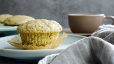 From supermarket aisles to those backlight bakery cases in every diner across the country, lemon poppy-seed muffins are ubiquitous, and easy to love Buttery and soft, tart and sweet, they are soothing in their simplicity, while seeds add just a bit of crunch This version gets a healthy dose of lemony tang thanks to an ample amount of grated zest and a zippy lemon-juice glaze