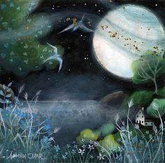 Sea Mist and Moon by Amanda Clark 2011