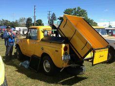 Wow it's a dump truck.