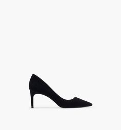 ASYMMETRIC HEEL COURT SHOE