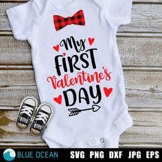 Boy Onesie, Onesies, Dad Cake, Valentines For Boys, First Valentines Day Baby, Vacation Shirts, Silhouette Designer Edition, Boys Shirts, Best Dad