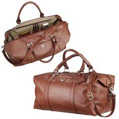 Cutter & Buck – Leather Weekender Duffel « Impulse Clothes