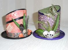 How to Make Day of Dead Hat - Graphic 45 'Rare Oddities'