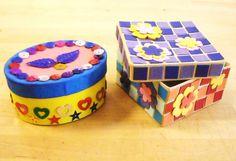 Kistje versieren