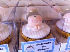 Cupcakes de batizado